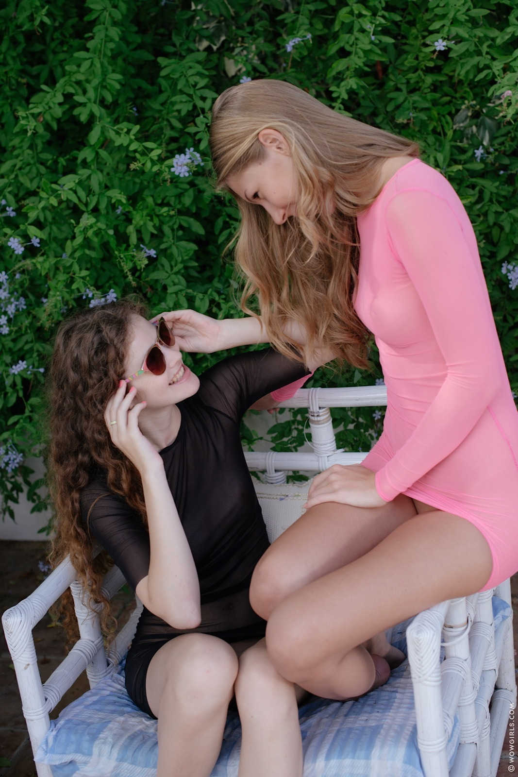 Piękne fotki lesbijek cipki