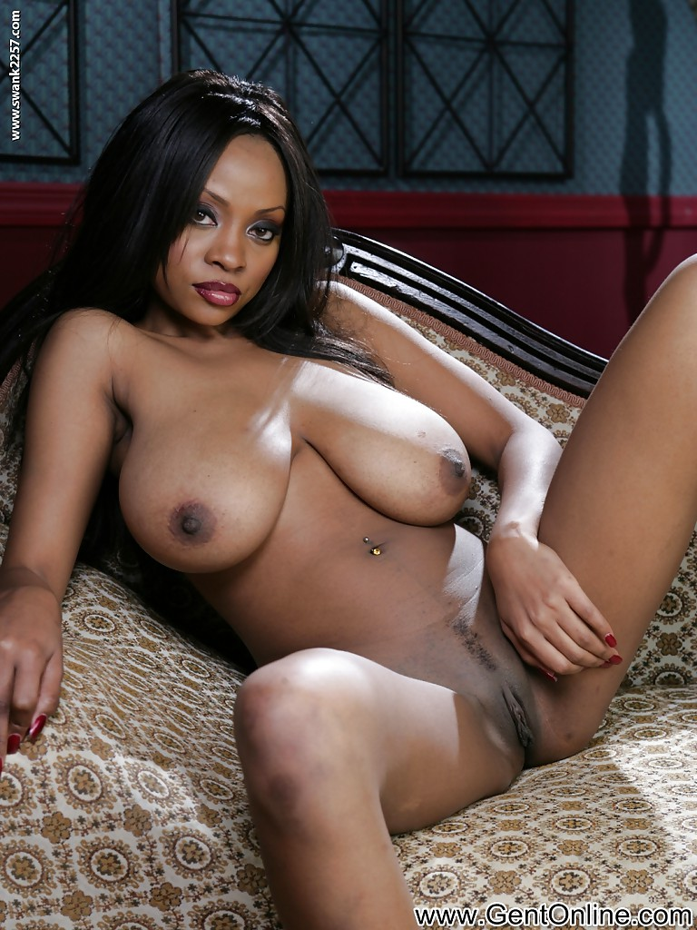 Simply ebony female body naked interesting